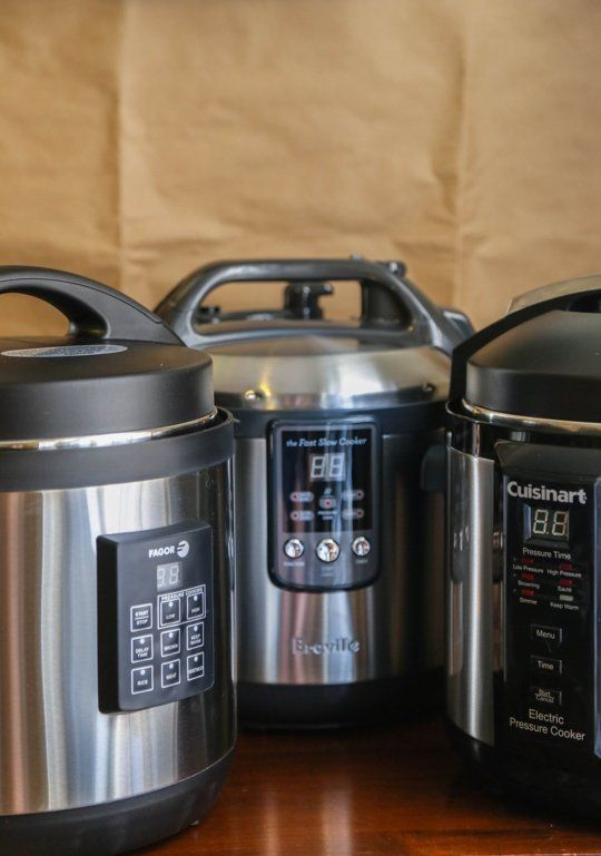 Cuisinart, Fagor, and Breville: Which Electric Pressure Cooker Is Right for You?