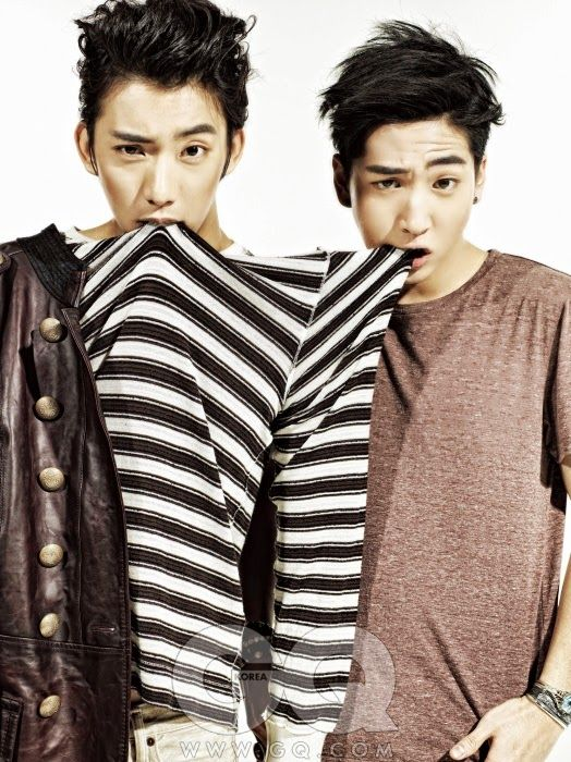 Gong Chan and Baro - GQ Magazine August Issue 13