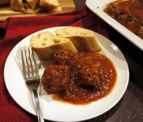 Saucy porcupine meatballs that are baked to create the perfect entree. Perfect served over noodles.