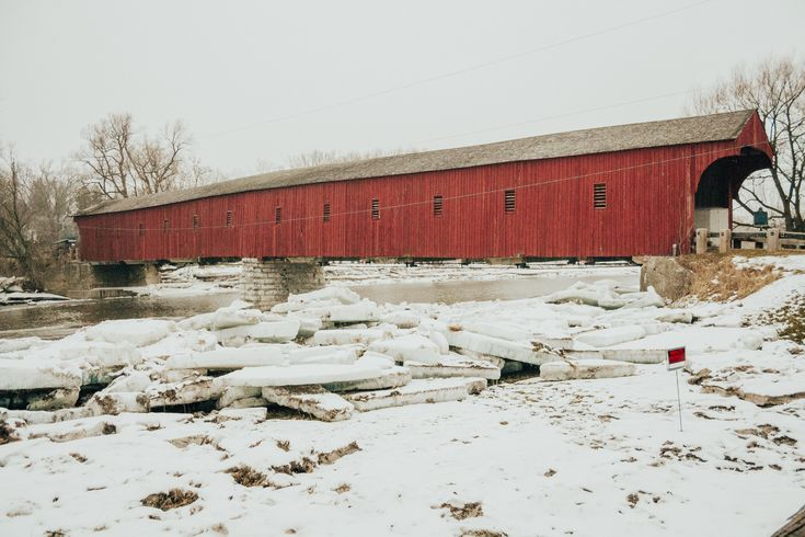 VISITING WEST MONTROSE COVERED BRIDGE - Earthly Mama