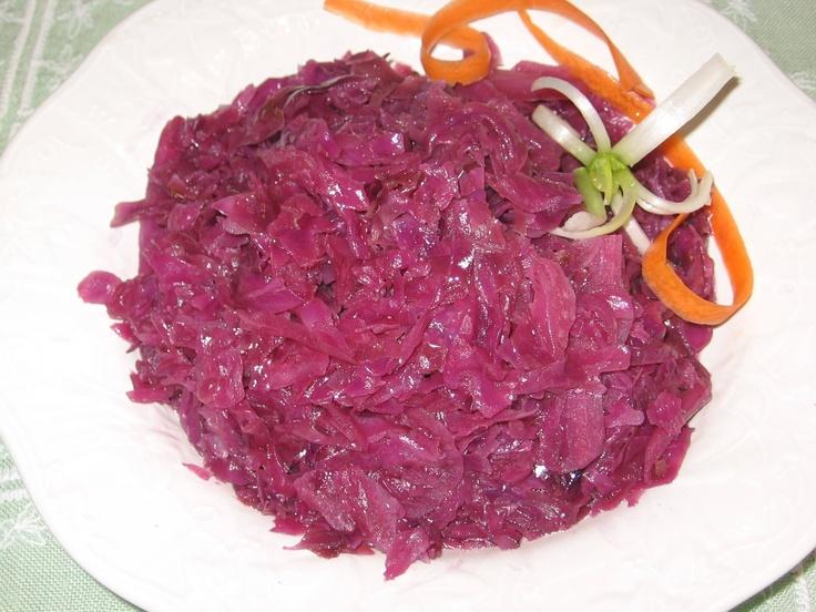 How to Make Polish Braised Red Cabbage - Czerwona Kapusta Zasmazana