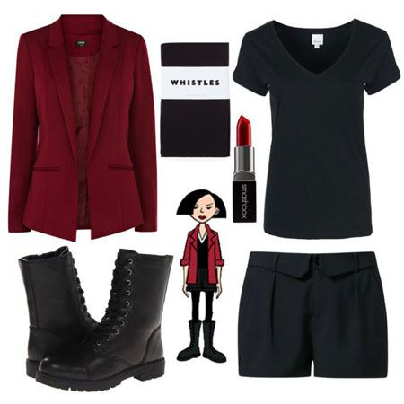 Cute, Easy, Cheap Outfit Ideas Inspired By Daria Characters | Gurl.com