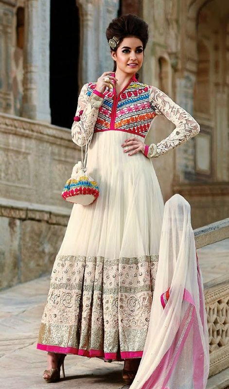 1000 Images About Designer Partywear Anarkali Suit On