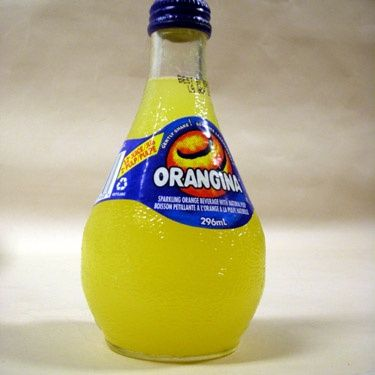 Orangina First time I had this was on a school PGL holiday in France