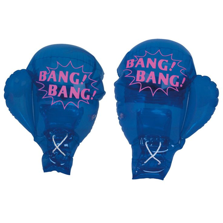 Socker Boppers Wholesale: Birthday Express Inflatable Boxing Gloves, 85344
