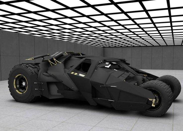 Tchii!... O Tumbler do Batman! Um dos melhores carros de Cinema ('The Greatest Movie Cars Of All Time')