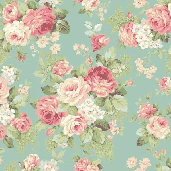 Pattern: Floral. I've always loved the floral pattern. I think it's just because I love flowers