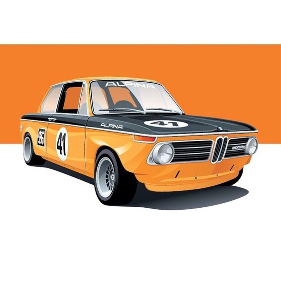 Artist Arthur Schening illustrates the illustrious cars of racing history. See more of his work at Petrolicious.com. • #drivetastefully