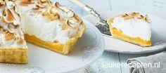 Heerlijk taartrecept voor een echte engelse citroen meringue pie