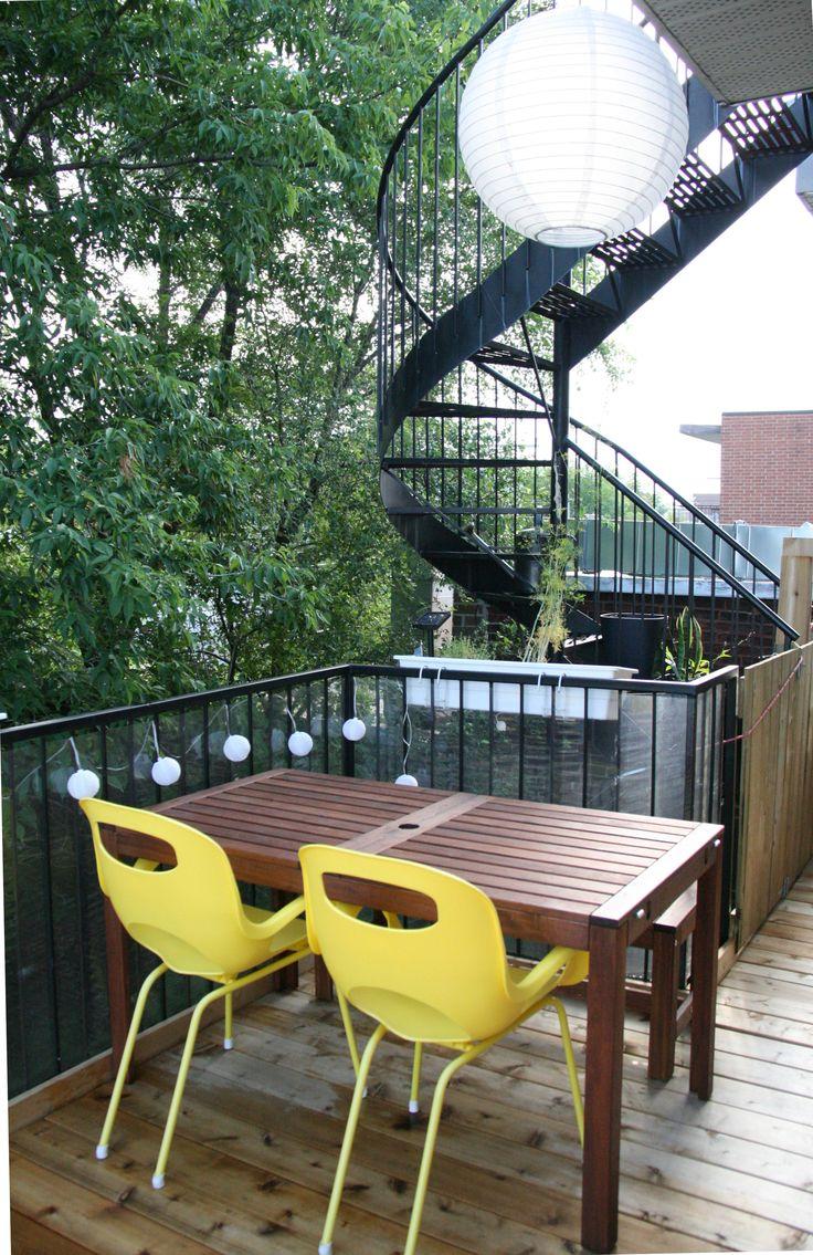 Très belle terrasse pour de nombreuses soirées à l'extérieur!