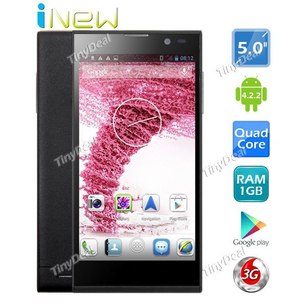 "(INEW) V3 5"" IPS MTK6582 Android 4.2.2 Quad Core 3G NFC Phone   Wifi Display   18MP CAM (1GB RAM   16GB ROM) P05-IWV3 http://www.tinydeal.com/inew-v3-5-ips-scree-px250pz-p-127681.html"