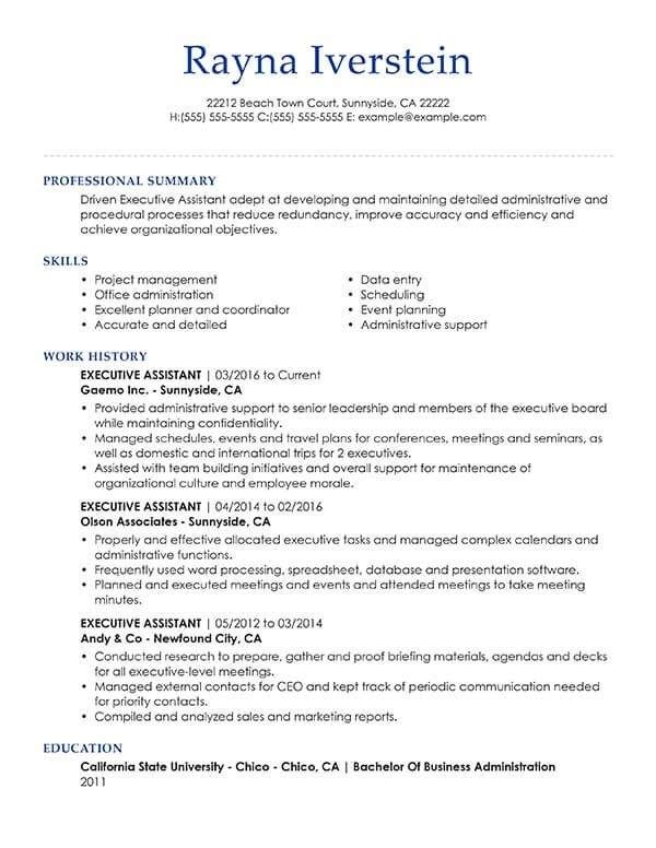 Customize Any Of These Free Professional Resume Examples Professional Resume Examples Cv Template Cv Design Template