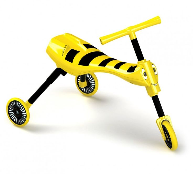 The Scuttlebug Bumble is Yellow & Black perfect for busy little bees
