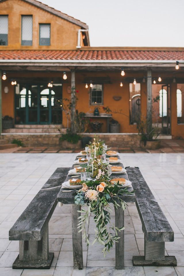 Tuscan wedding reception ⎪Amy Kate Photography⎪see more on: http://burnettsboards.com/2015/08/enchanting-tuscan-wedding-ideas/