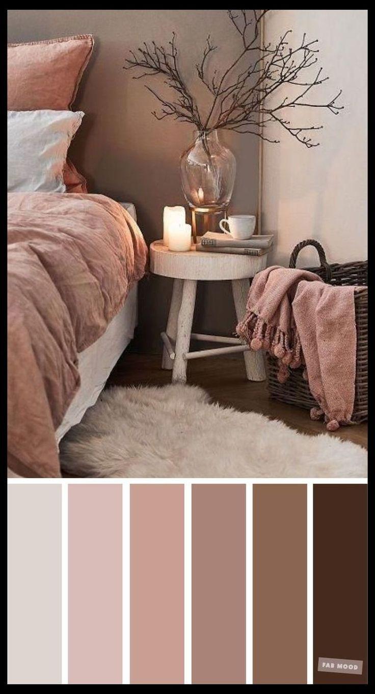 Earth Tone Colors For Bedroom i 2020 Färgschema
