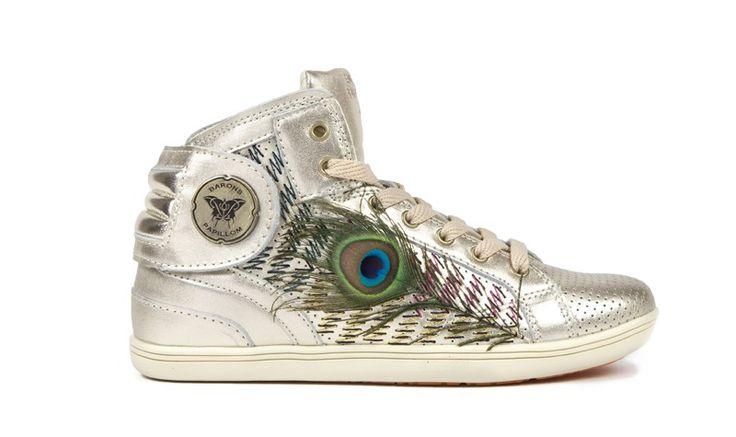 Barons Papillom la basket chic, sneakers française haut de gamme