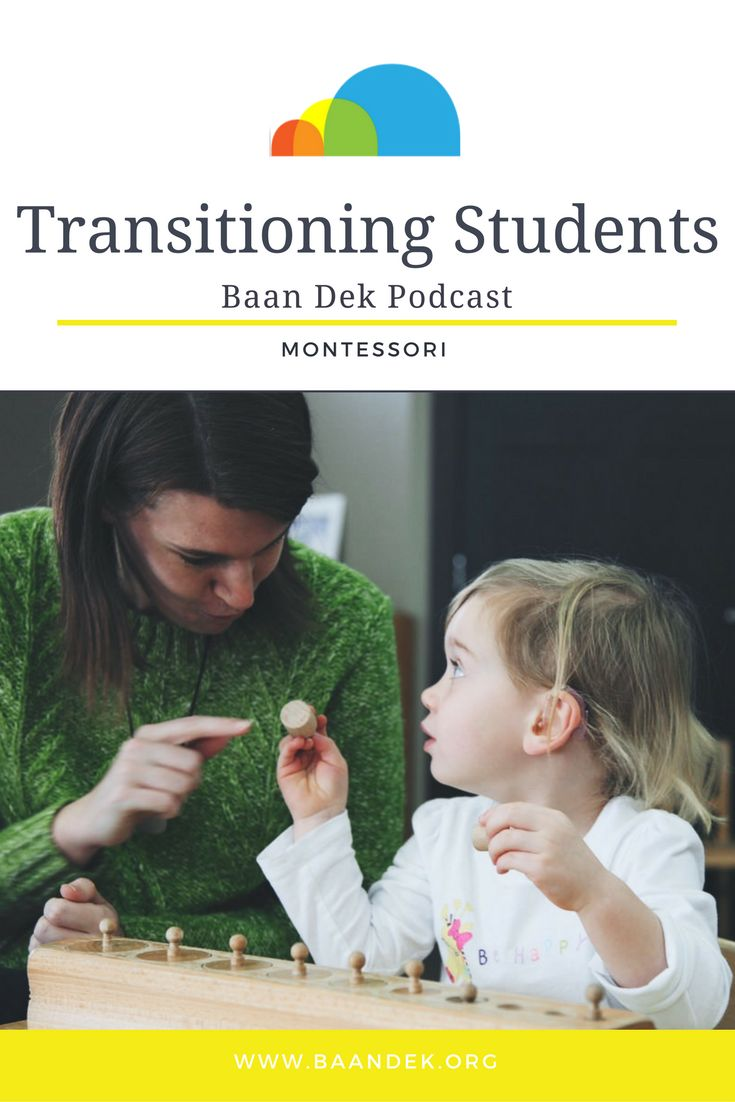 In this podcast, Ms. Jones and Ms. Wood chat about transitioning students. Recently, new students have joined us at Baan Dek, and some of our youngest children have moved to their Primary classrooms. Listen here! #montessori #transitioning