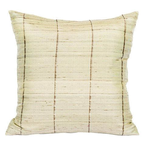 Artisans in Cambodia weave these sumptuous silk cushion covers in their villages near Siem Reap. The silk they used is raw silk. It is much rarer than fine silk as it only makes use of a third of the cocoon.
