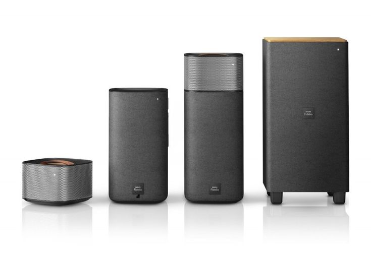 The Philips Fidelio E5 Wireless Surround Sound Speakers- the best way to achieve surround sound on demand in your home.