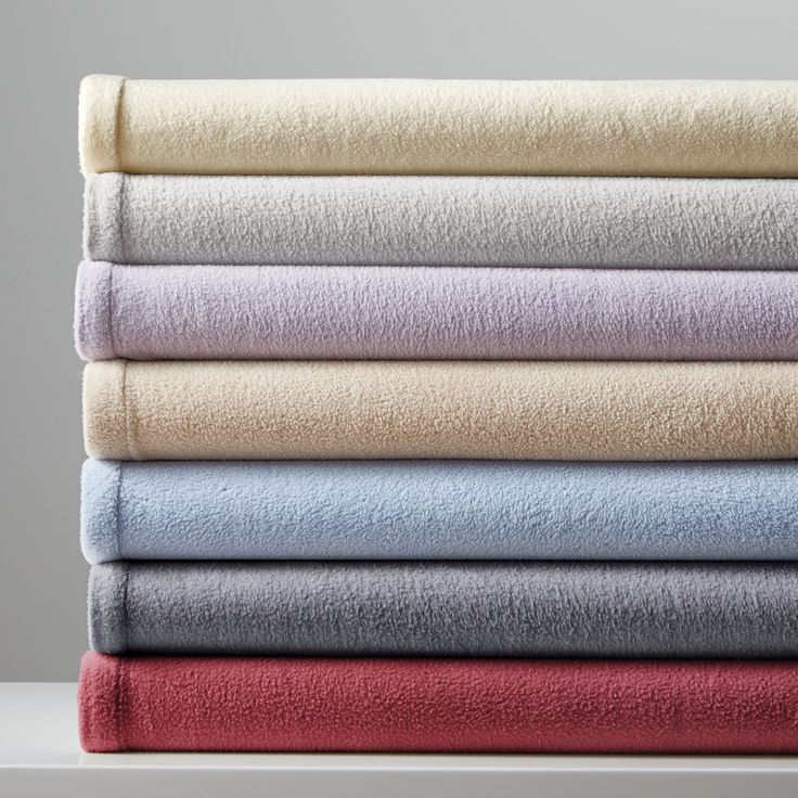 Keep your guests snug and warm with the supremely soft, cozy feel of microfleece sheets. #searscanada #holidays #hosting