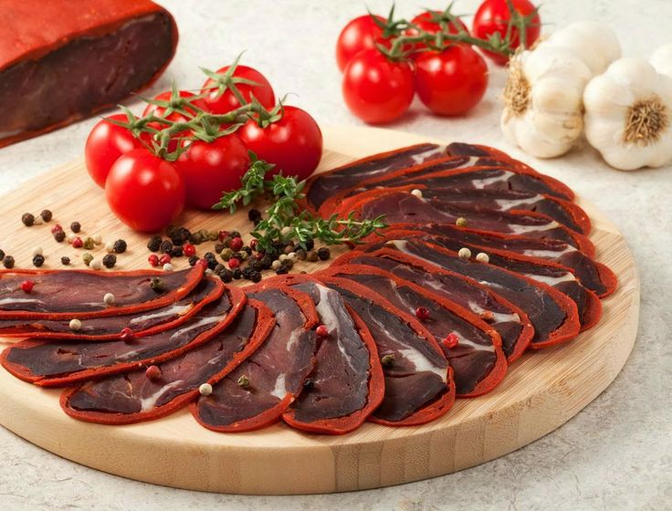 Food Middle East/North Africa - Eten Midden Oosten/Noord Afrika (Turkse/Kayseri - Pastirma)