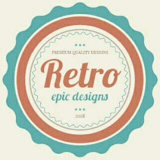 Make your biz stand out with a retro logo #design #logos #graphicdesign #branding #marketing