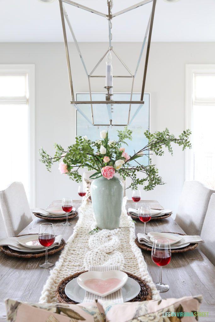 valentine s day tablescape home design inspiration pinterest rh pinterest com