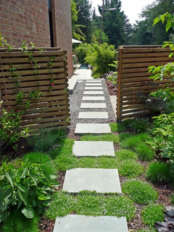 Pea Stone is great for filling in walkways.