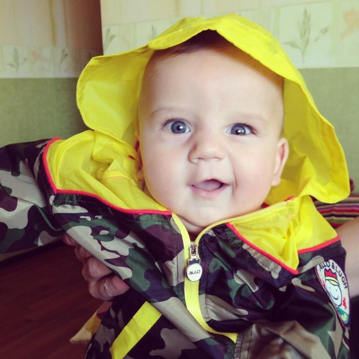 millitary #baby raincoat