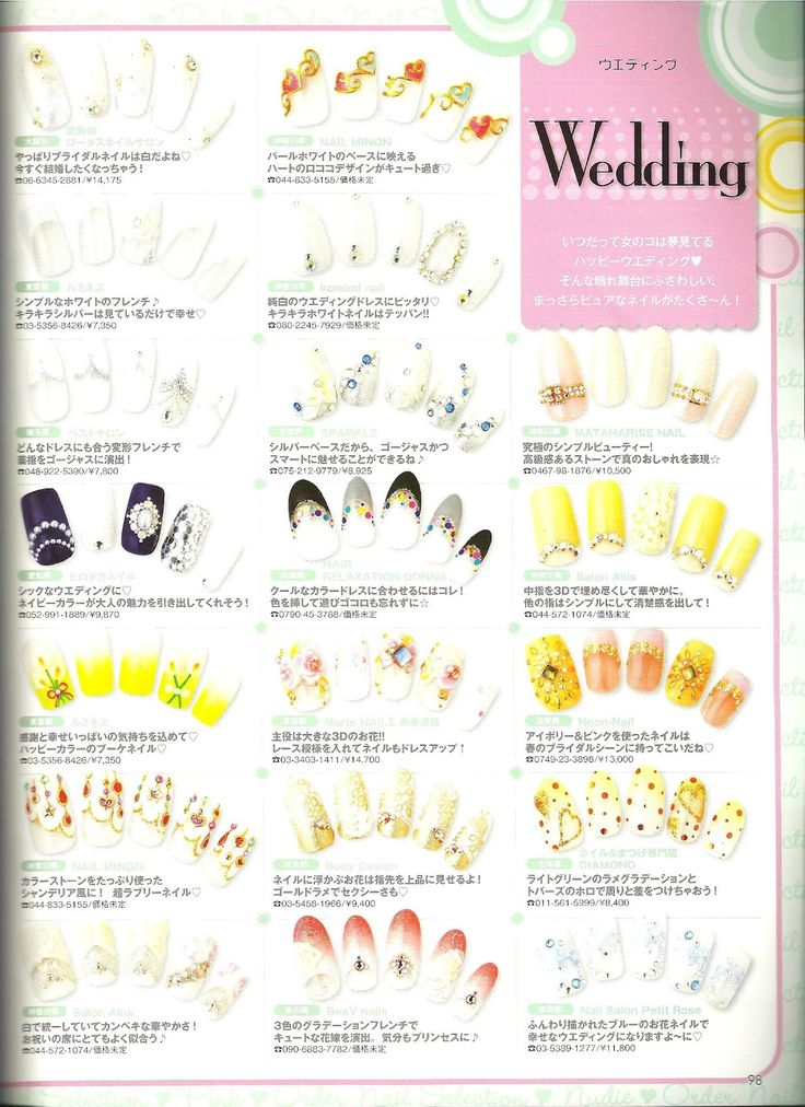 The 171 best Magazine nail art images on Pinterest | Book, Nail spa ...