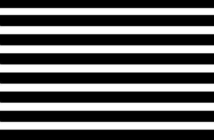 Rayas blanco y negro horizontales