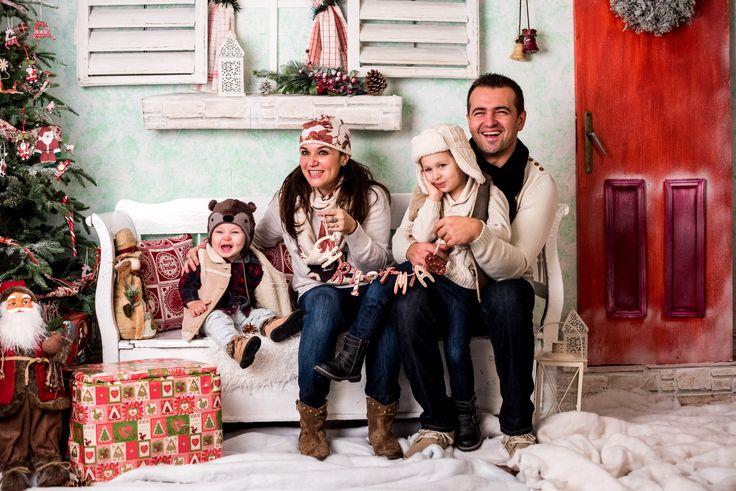 Sedinte foto de familie la studioul foto SV Productions Recas. Timisoara