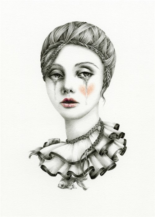 Courtney Brims ~ Tears of a clown