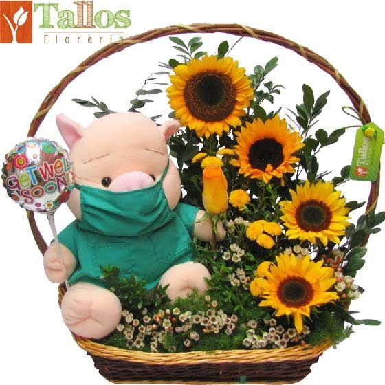 Arreglos Florales | Florerias en Lima Peru | Flores en Lima, Enviar Rosas | Floreria Tallos | Mejórate pronto