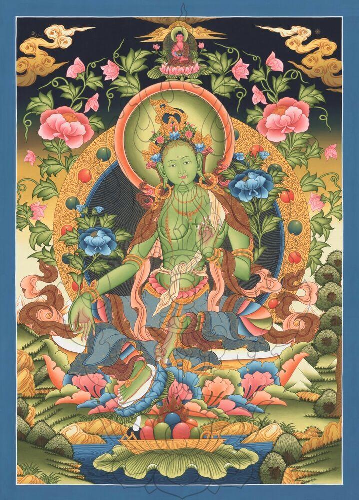 сделать обыденные зеленая тара в буддизме картинки челны удивительный
