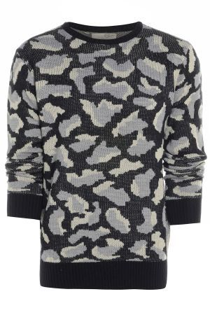 Mens Camouflage Jumper £33.00 http://www.bravesoul.co.uk/shop/clothing/mens-camouflage-jumper?colour=BLACK%2FGREY #camo #jumper #mensfashion #bravesoulcouk