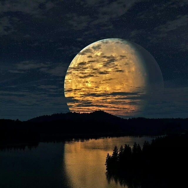 Awesome moon.