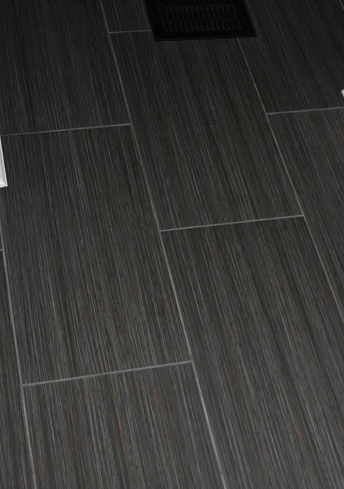 Daltile Fabrique In Noir Linen With Radiant Heat For Those