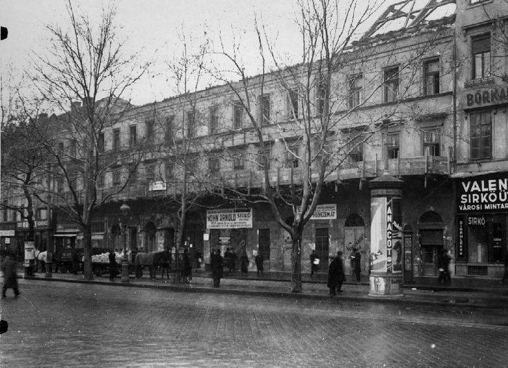 körút, budapest, 1930