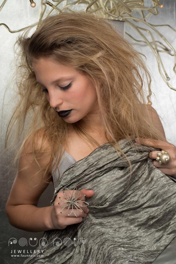 www.faunnoir.com  www.etsy.com/shop/faunnoir  photo: Zólyomi Károly (All rights reserved! zolyomikaroly@gmail.com)  model: Drentye Fruzsi (+36204351772)  make-up: Benedek Mariann (ch.benedekmariann@gmail.com)  ring: Faun Noir Jewellery