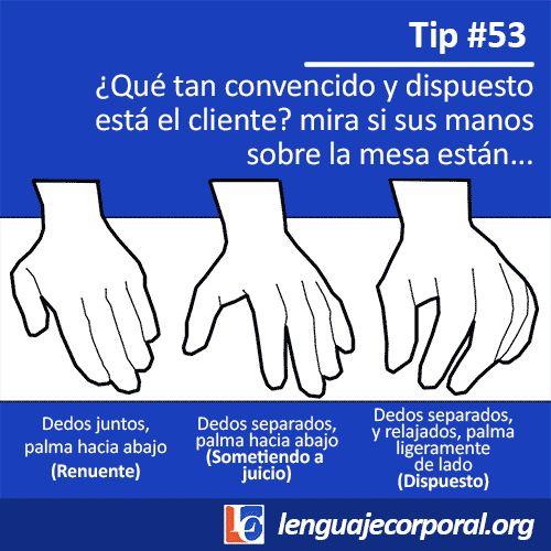 [Megapost] 75 tips del lenguaje corporal - Taringa!                                                                                                                                                                                 Más