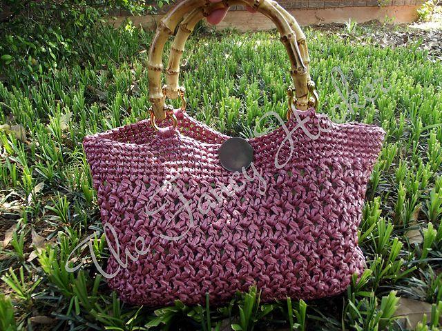 Crochet Pattern: Eco Chic Purse by the Fancy Hooker $4.29