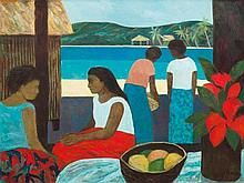 RAY CROOKE born 1922 Untitled (Islanders)