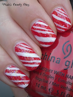 Candy Cane-man, I can't wait for Christmas: Candy Cane Nails, Canes Nailart, Christmas Nails, Toe Nails, Candy Canes, Nails Polish, Zebras Stripes Nails, Black Stripes, Canes Nails Art