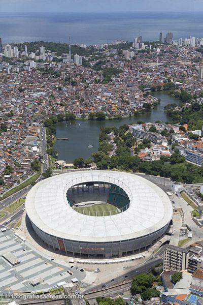 Arena Fonte Nova, Salvador, Bahia, Brasil. Um dos estádios da Copa do Mundo 2014 #WorldCup