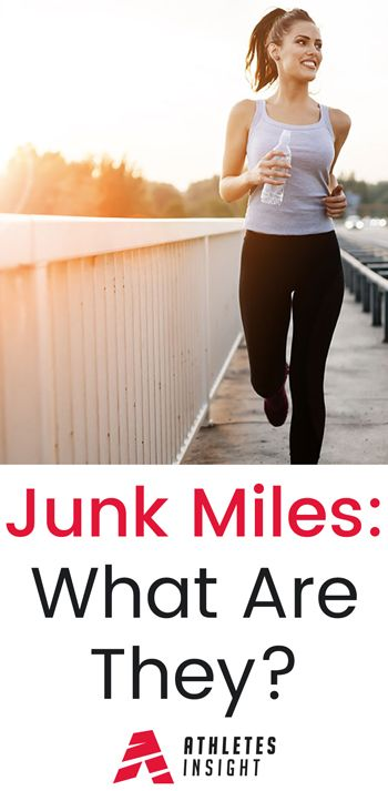 Junk Miles: What Are They? Complete article on Junk Miles. Are they a benefit or a hindrance? Find out more at athletesinsight.com