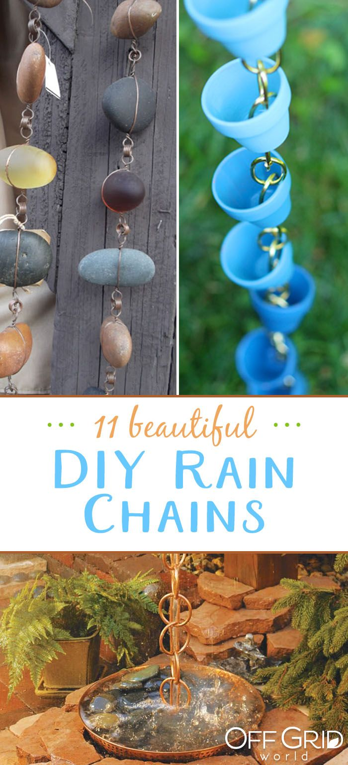 11 Beautiful DIY Rain Chain Ideas