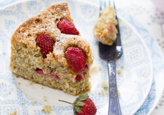 Strawberry and Pistachio Cake Recipe • The Answer is Cake