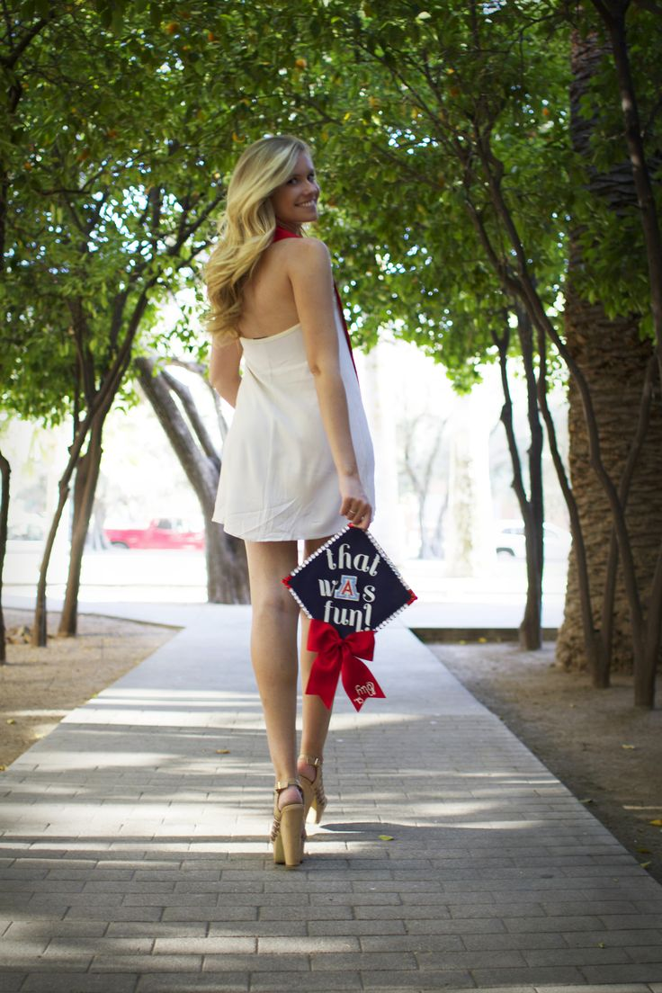 University of Arizona College Graduation Tucson Arizona Graduation Cap Designs www.amyjohnsonmarie.com