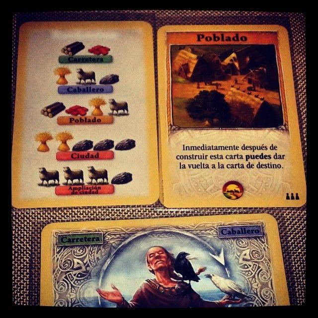 Colonos de #catan el juego de cartas de @deviriberia #cardgame visita nuestro blog http://boardgamescave.wordpress.com